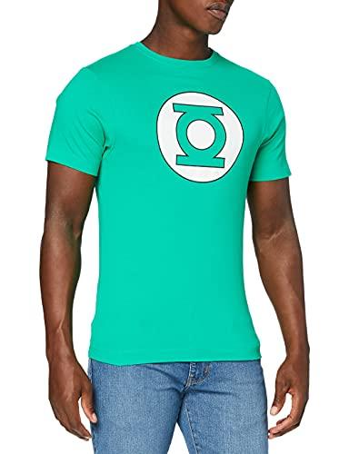 DC Comics Camiseta Manga Corta Green Lantern Circle Logo Verde M