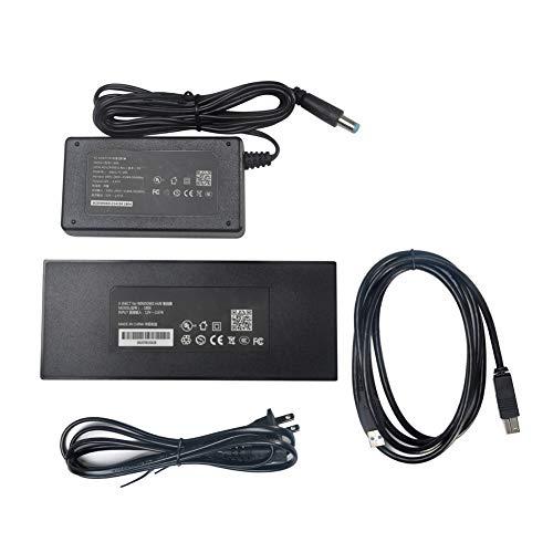 DAVEVY Kinect 2.0 - Adaptador de Corriente USB 3.0 para Xbox One S Xbox One X Windows PC, Negro