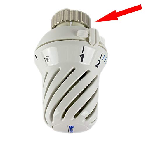 Buderus Thermostatkopf BD-W0 Klemmanschluss, mit Nullstellung Heizkörperthermostat für Ventilheizkörper