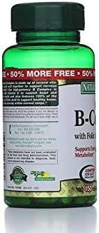 Ranking TOP5 Nature's Bounty Popular B-Complex with Folic Acid Vitamin Plus Tablet C
