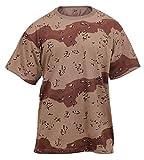 Rothco T-Shirt/Desert Camo - XX-Large