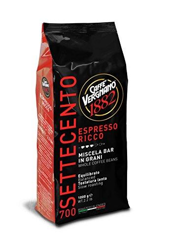 Vergnano 1882 Espresso Ricco 700 Kaffee Bohnen 1 KG