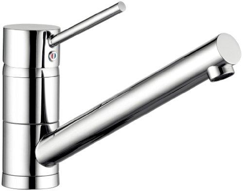 Kludi Scope 339399675 Spültisch-Einhebelmischer/Niederdruck DN10 edelstahlfinish