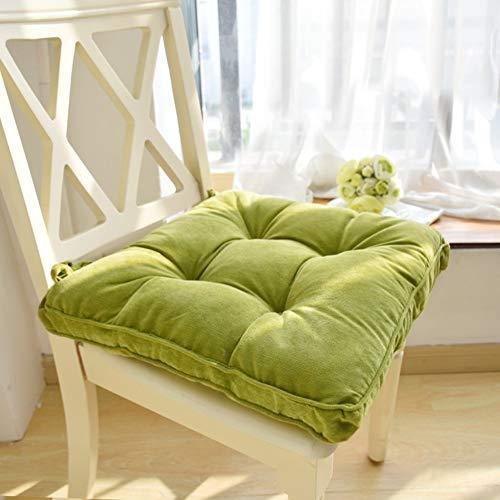Verdikte stoel met demping, zitkussen van stof, zitkussen voor studentenstoel, zitkussen van tatami, voor klaslokalen, bureaustoel, vloermatten h 43 x 43 cm (17x17 inch)