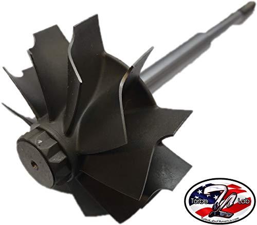 Turbo Lab America Holset HX40 H1E Turbine Wheel 67 x 76mm 10 Blade Upgrade