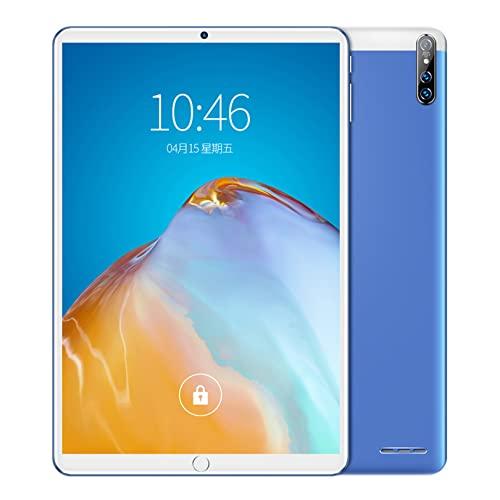 Natuogo Tablet Android da 10 Pollici, 8 GB di RAM 128 GB di Memoria Rom, Fotocamera da 32 + 64 MP, Display HD IPS 1280x800, processore Octa Core, Tablet per chiamate, WiFi