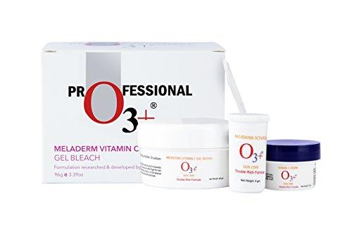 O3+ meladerm vitamin C Gel Bleach for Skin Whitening and...