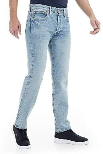 Levi's - Jeans da uomo 511 Slim Fit, vestibilità aderente Blu Mowhawk Warp Str 2550 33W x 30L