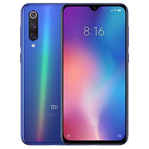 Xiaomi Mi 9 (128GB, 6GB RAM) 6.39' OLED Display, 48MP Camera, Snapdragon 855, Factory Unlocked GSM Smartphone (Global 4G LTE Version) (Ocean Blue)