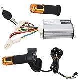 Surebuy Controlador De Velocidad del Motor, Circuito De Protección del Controlador con Controlador para Adultos para Scooters Eléctricos para Triciclos Eléctricos