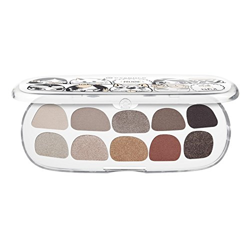 essence - Lidschattenpalette - The Trend Factory - million nude faces eyeshadow box - #beYOUtiful
