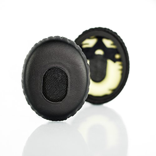 OE y Bose SoundTrue On-Ear Bose On-Ear 2 Negro//Gris L//R Mesh Almohadillas de Repuesto para Auriculares Bose On-Ear inal/ámbricos OE AHG SoundLink On-Ear OE2