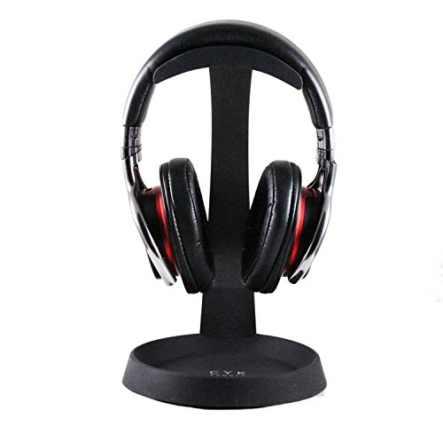 Navitech Stahl auf Ohr und über Ohr Wireless/Bluetooth-Kopfhörer Stehen Halter für LOBKIN V4.1 Stereo Music Foldable Over Ear Headphone Headset