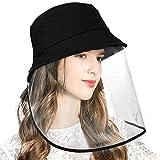 安全保護帽子防護 漁師帽 顔面隔離 口鼻目保護 PM2.5 取り外し可能 防塵 キャップ 紫外線対策 UVカット