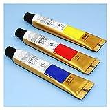 ZYTANG 18/24/24 Colores Professional Brush Set 12ml Tubes Artist Dibujo Pintado Pigmento Pintado a Mano Pintura de Pared DIY (Number of Colors : 12 Colors)