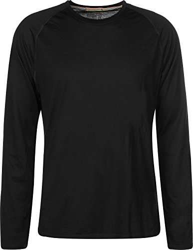 Smartwool Herren Men's Merino 150 Baselayer Long Sleeve Boxed Thermal Tops, Black, M