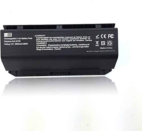A42-G750 Laptop Battery Replacement for ASUS ROG G750JH-DB71 T4106H...