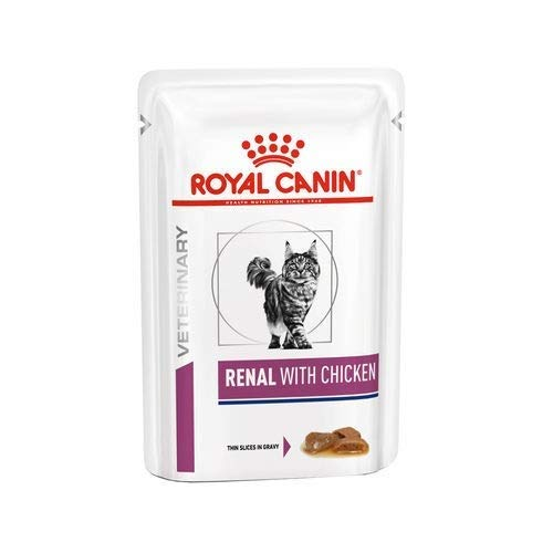 Royal Canin C-583931 Feline Renal Pollo Pack de 12 x 85 gr