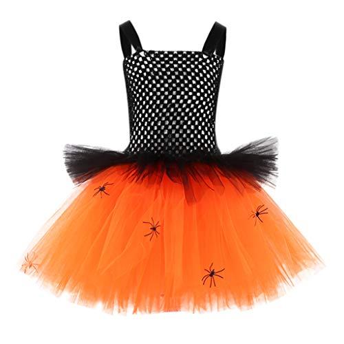Cuteelf Kleinkind Kinderbaby Halloween-Kleidung Kostüm Kleid + Haare Hoop + Batwing Outfit