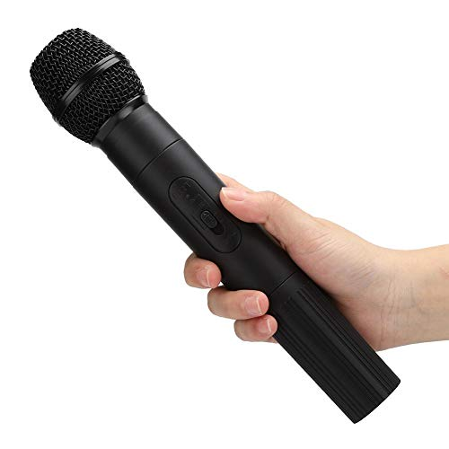 Byged Micrófono de Bobina móvil inalámbrico, micrófono, Banda de frecuencia ultraelevada para Fiestas de Karaoke para KTV