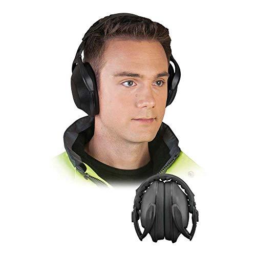 Reis OS-FLEX - Protectores auditivos (talla M, 1 unidad), color negro