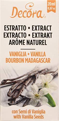 Decora Estratto Naturale di Vaniglia Bourbon Madagascar - 20 ml