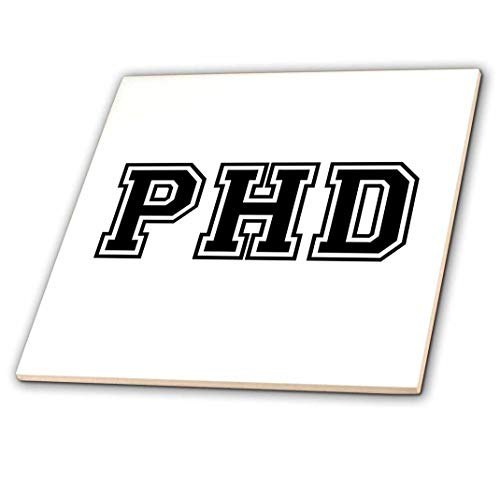 A tile to help them remember is a great gift ideas for a phd graduation.