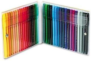 Pentel Color Pens Set, Assorted Colors, Set of 36