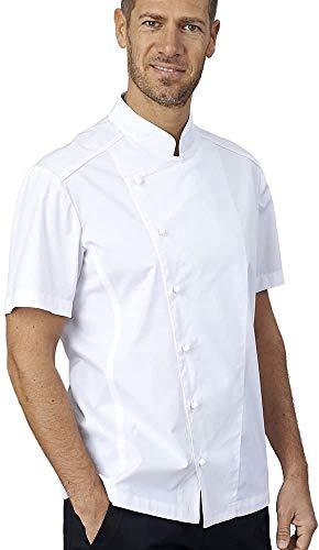 siggi Giacca Chef Manica Corta Nick, Bottoni a Funghetto (XXXL)