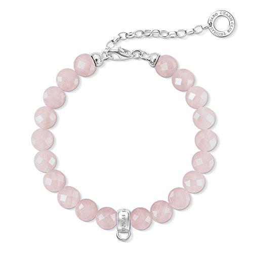 Thomas Sabo X0227-034-9-L18,5v quarz Charm Armband mit Länge 16cm + 4 cm Verlängerung,rosa