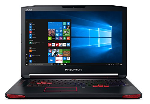 Acer Predator 17 Gaming Laptop, Core i7, GeForce GTX 1070, 17.3' Full HD G-SYNC, 16GB DDR4, 256GB SSD, 1TB HDD, G9-793-79V5