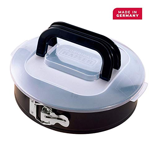 Kaiser Springform Pan Non-Stick Coating, Black, 22 cm