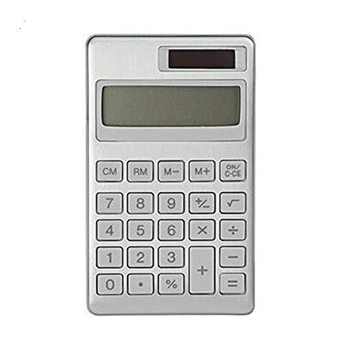 Muji Taschenrechner, Aluminium, Silber, Mittel