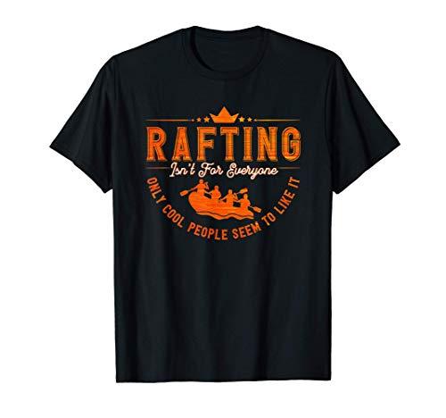 Rafting Schlauchboot Wildwasser Rafting Kanufahrer Kajak T-Shirt