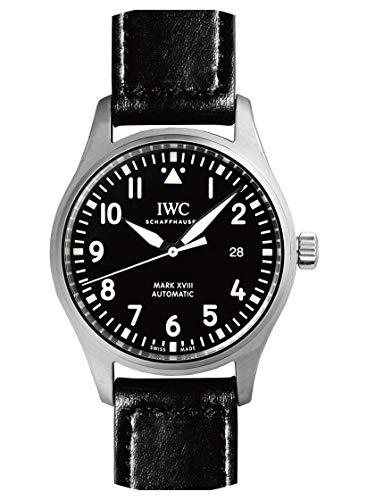 [アイダブリューシー] IWC 腕時計 IW327009 パイロットウォッチ マーク18 SS/ブラックレザー ブラック 新品...