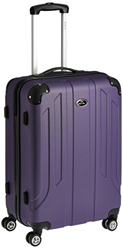 Pronto Protec ABS 68 cms Purple Hard Sided Suitcase (6517 - PL)
