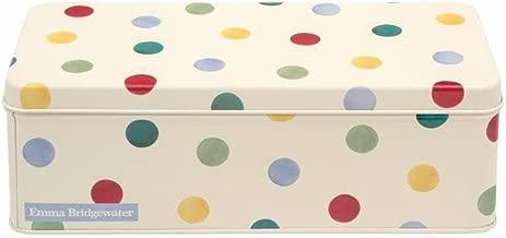 Emma Bridgewater Polka Dot Cracker Rectangle Storage Tin Caddy
