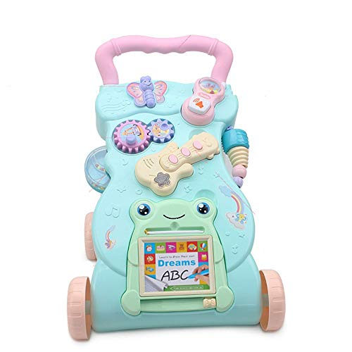 Fantastic Prices! Baby Push Walker Girl&Boy Walker Toy Infant Trolley Early Education Puzzle Baby Mu...