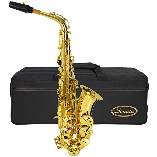 Montreux Sonata SAS701 Student Alto Saxophone with Case, Mouthpiece and Accessories