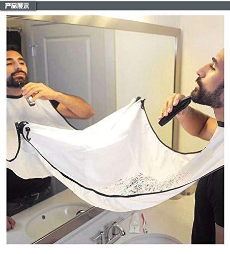 Hbno Friseurumhang für Damen Weiß-Tuch