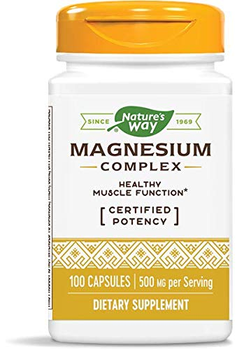 Nature's Way Magnesium Complex, Pack of 2