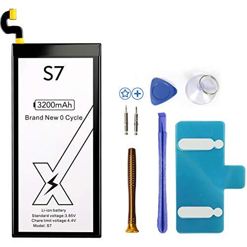 DEJIMAX Batterie per SAMSUNG Galaxy S7, 3200mAh di ricambio per cellulari per Galaxy S7 G920 /EB-BG930ABE