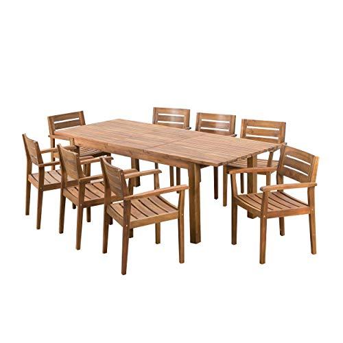 La mesa extensible con más espacio