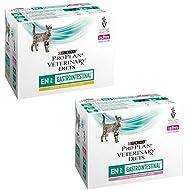 Purina Pro Plan Veterinary Diet Feline En Gastrointestinal 85g x 10 Chicken And 85g x 10 Salmon- Tot...