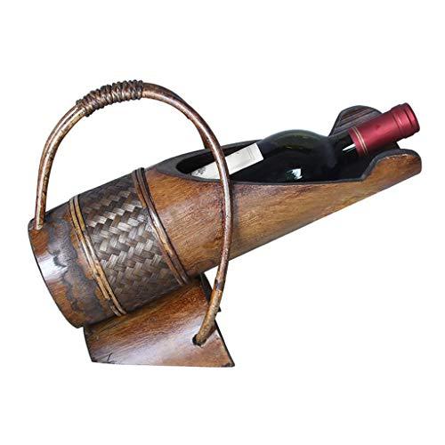Estilo retro moderno Estante de vino, estante de vino de metal, estante de vino decorativo, estante de vino de metal, orquídeas de hierro, conjunto de botellas de vino de bar, 23 u0026 veces;10.5 \ u0