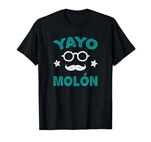 Hombre Divertido Yayo Molón - Regalo Para El Abuelo Camiseta