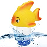 Bearbro Floating Pool Tool, Floating Pool Cleaned Tool for Hot Tub Swimming Pool Spa Accepts 1' and 3'(not Included)