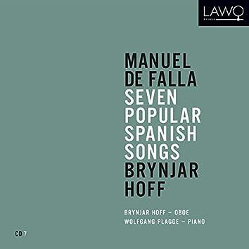 Manuel de Falla: Seven Popular Spanish Songs: Brynjar Hoff