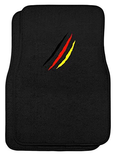 SPIRITSHIRTSHOP zwart rood goud Duitsland vlag liefde Oktoberfest München Beieren feesttent outfit - automatten -eenheidsmaat zwart