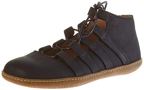 El Naturalista El Viajero, Zapatos de Cordones Brogue Mujer, Negro Black Black, 40 EU